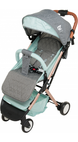 Children's stroller GT Baby 1802 Gold/Green/Gray