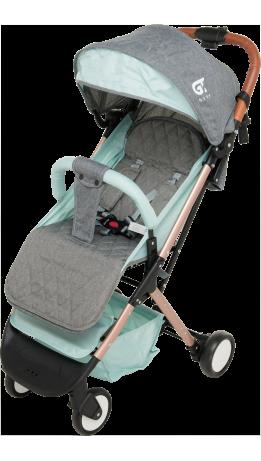 Прогулянкова коляска GT Baby 1802 Gold/Green/Gray