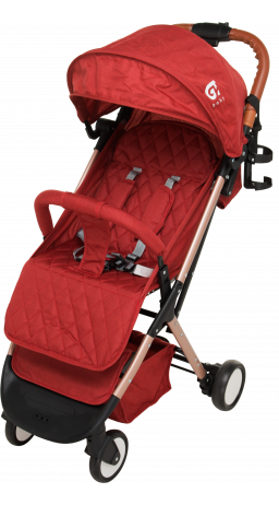 Children's stroller GT Baby 1802 Gold/Red