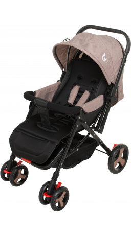 Children's stroller GT Baby 2305-6 Black/Brown