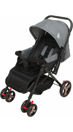 Children's stroller GT Baby 2305-6 Black/Gray