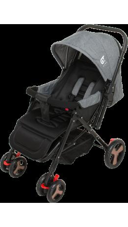 Прогулянкова коляска GT Baby 2305-6 Black/Gray