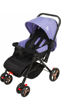 Children's stroller GT Baby 2305-6 Black/Purple