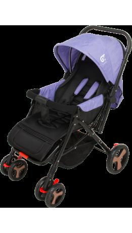 Прогулянкова коляска GT Baby 2305-6 Black/Purple