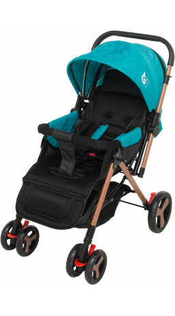 Children's stroller GT Baby 2305-6 Gold/Blue