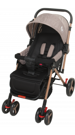 Children's stroller GT Baby 2305-6 Gold/Brown