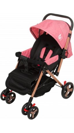 Прогулянкова коляска GT Baby 2305-6 Gold/Pink
