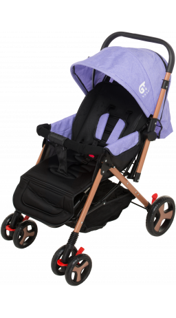 Children's stroller GT Baby 2305-6 Gold/Purple