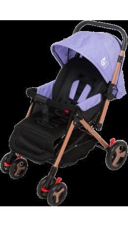 Прогулянкова коляска GT Baby 2305-6 Gold/Purple