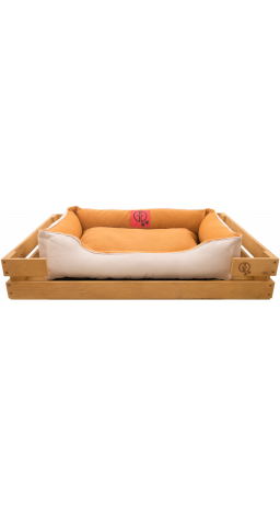Pet Couch GT Dreamer Kit Pine XL 118 x 74 x 16 sm (Beige-White)