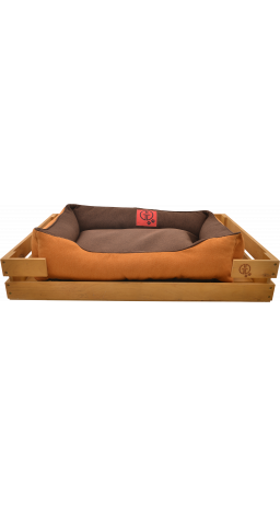 Pet Couch GT Dreamer Kit Pine XL 118 x 74 x 16 sm (Brown-Beige)