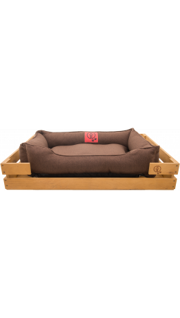 Лежак GT Dreamer Kit Pine L 98 x 64 x 15 см (Brown)