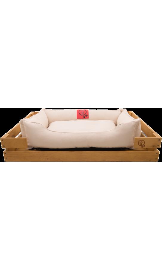 Лежак GT Dreamer Kit Pine M 78 x 54 x 12 см (White)
