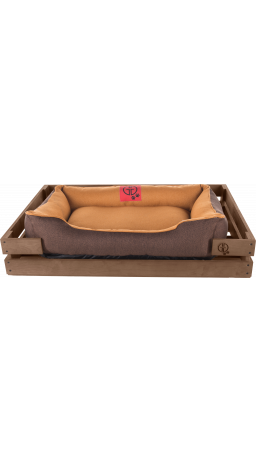 Pet Couch GT Dreamer Kit Chestnut S 68 x 48 x 10 sm (Beige-Brown)