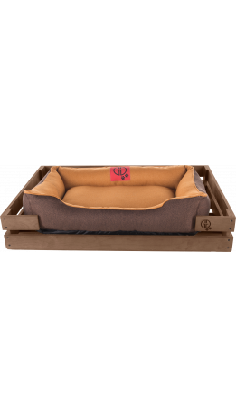 Лежак GT Dreamer Kit Chestnut L 98 x 64 x 15 см (Beige-Brown)