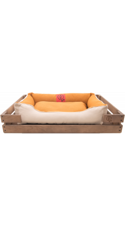 Pet Couch GT Dreamer Kit Chestnut XXL 128 x 84 x 16 sm (Beige-White)