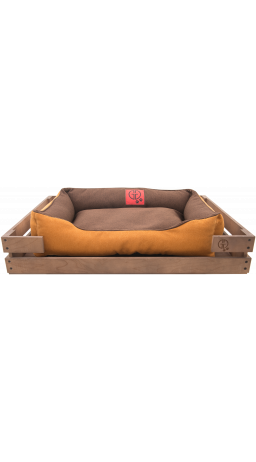 Pet Couch GT Dreamer Kit Chestnut XXL 128 x 84 x 16 sm (Brown-Beige)