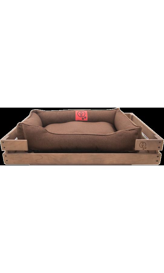 Лежак GT Dreamer Kit Chestnut S 72 x 60 x 10 см (Brown)
