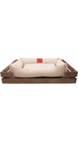 Pet Couch GT Dreamer Kit Chestnut S 68 x 48 x 10 sm (White)