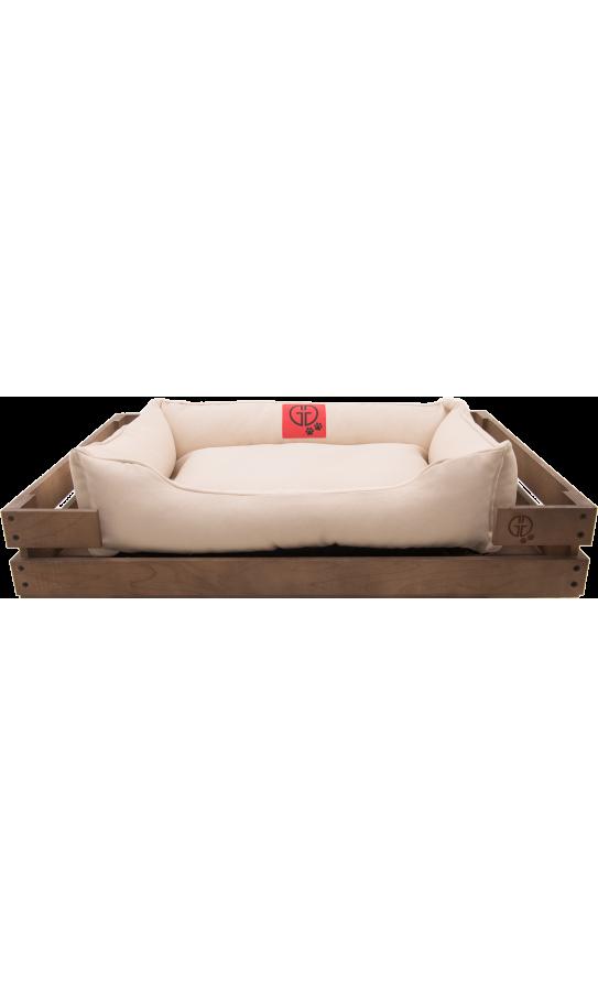 Лежак GT Dreamer Kit Chestnut S 68 x 48 x 10 см (White)