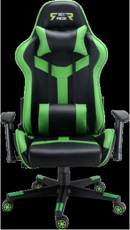 Геймерське крісло GT Racer X-2527 Black/Green