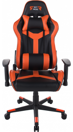 Gaming chair GT Racer X-2527 Black/Orange