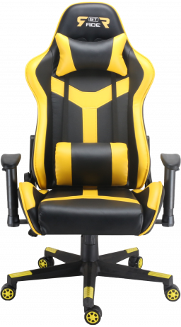 Gaming chair GT Racer X-2527 Black/Yellow