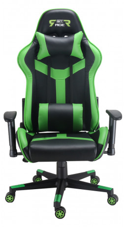 Gaming chair GT Racer X-2527 Black/Green