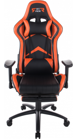 Gaming chair GT Racer X-2534-F Black/Orange
