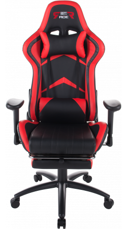 Gaming chair GT Racer X-2534-F Black/Red