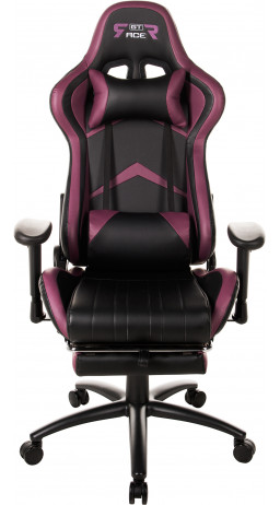 Gaming chair GT Racer X-2534-F Black/Violet