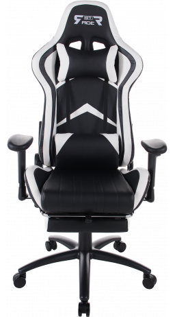Gaming chair GT Racer X-2534-F Black/White