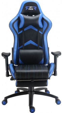 Gaming chair GT Racer X-2534-F Black/Blue
