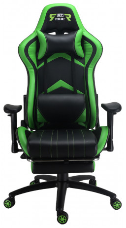 Gaming chair GT Racer X-2534-F Black/Green