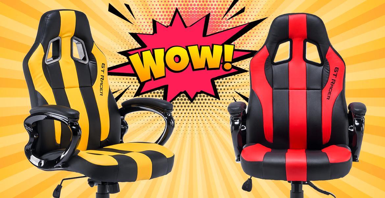 Нові надходження крісел GT Racer
