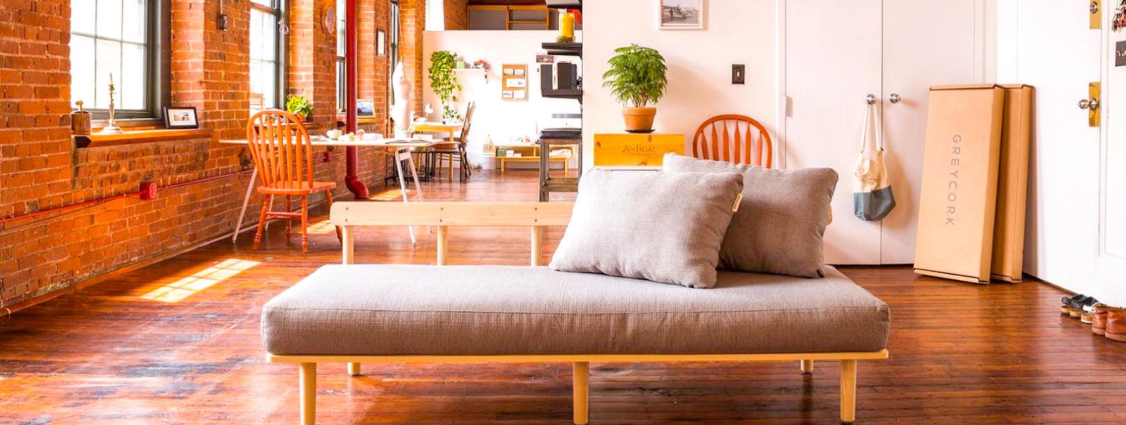 Greycork Living Room Set – суперкомпактный комплект мебели для гостиной