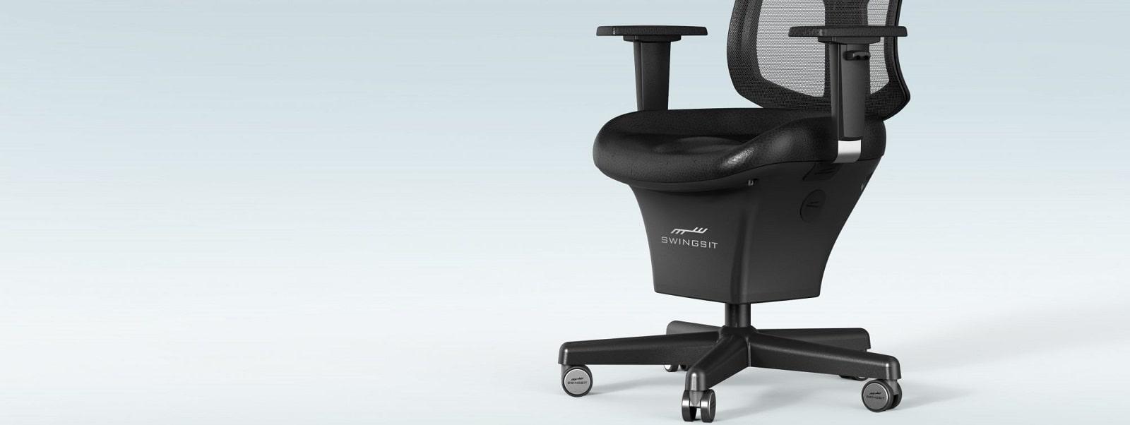 Swingseat - перший офісний стілець з активним хитанням