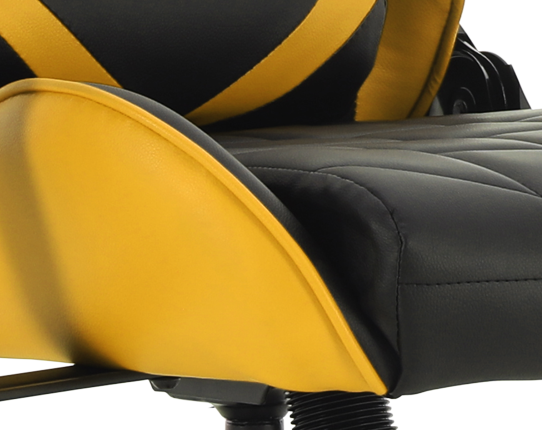 Gaming chair GT Racer X-2579 Black/Yellow